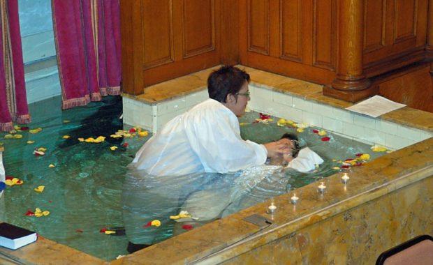 Susan's Baptism Story